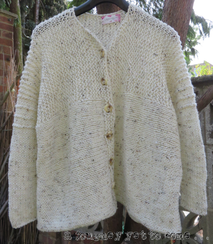Hand Knitted 'Reading Room' Cardigan
