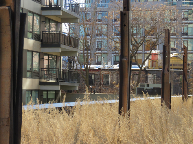 High Line - New York City USA - Jan 2015